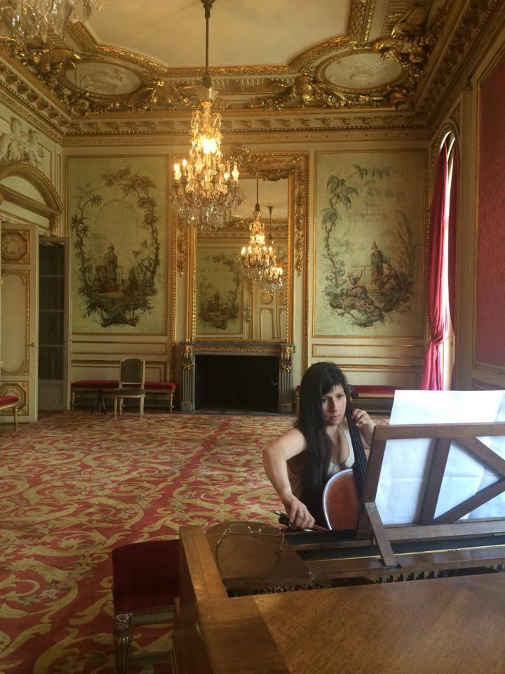 María at Chilean Embassy